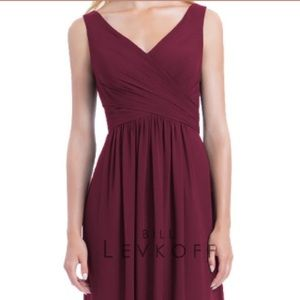 Bill Levkoff Bridesmaid Dress Style 1162 Wine